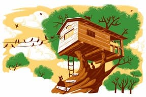 http://www.dreamstime.com/stock-photo-treehouse-image19348960