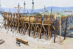http://www.dreamstime.com/royalty-free-stock-photo-ship-building-wooden-under-construction-image31752995