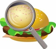 http://www.dreamstime.com/royalty-free-stock-images-examing-fastfood-vector-illustration-magnifying-glass-hamburger-image32625699